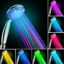 Handheld 7 Color Changing LED Light Water Bath Home Bathroom Shower Head... - $18.95+