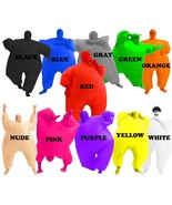 COSTUME AGENT ADULT CHUB SUIT BLOWUP INFLATABLE COLOR FULL BODY JUMPSUIT - $42.99