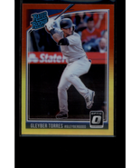 2018 Donruss Optic Red and Yellow #65 Gleyber Torres RR - NM-MT - $4.95