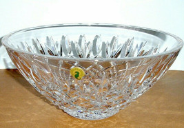 "Waterford Gallagher Crystal Serving Bowl Centerpiece 10.5""W Made in Irel... - $256.90"