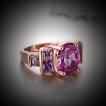 Angelic Wishing Ring Health Wealth Protection psychic power peace joy  - $137.00