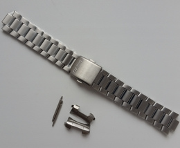 Genuine Replacement Watch Band 20mm Stainless Steel Bracelet Casio EF-12... - $23.60