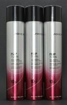 Joico Flip Turn Volumizing finishing Spray 9 oz, New Look cans, Pack Of 3 - $39.97