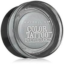 Maybelline New York Eye Studio Color Tattoo Metal 24 Hour Cream Gel Eyes... - $5.28