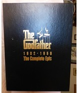1981 The Godfather 1902-1959 The Complete Epic Boxed Set 3 VHS Tapes Boo... - $45.00