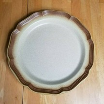 Mikasa Whole Wheat Stoneware Chop Plate Round Serving Platter 13 Inch  - $4.90