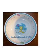 Looney Tunes Tweety Ceramic Bowl and Plate - $10.00