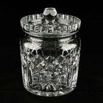 Waterford Crystal Lismore Biscuit Barrel and Lid in Original Box - $207.90