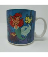 Disney Little Mermaid Ariel Flounder Sebastian Under The Sea Coffee Mug ... - $14.92