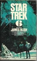 Star Trek 6 Paperback Book James Blish Bantam 1975 FINE - $3.99