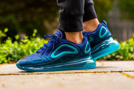 Nike Air Max 720 Blue Void/Spirit Teal Mens Trainers / Shoes - $229.69