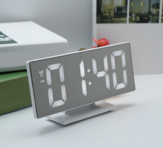 New Upgrate Digital Alarm Clock LED Mirror Clock - $16.00