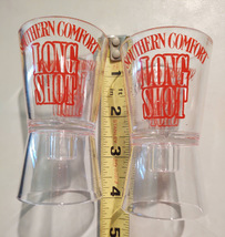 Southern Comfort Long Shot Beer Bottle Topper Shot Glasses Advertising Promotion - $24.99