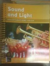 Foss Sound and Light Investigations Guide [Spiral-bound] [Jan 01, 2016] NONE LIS