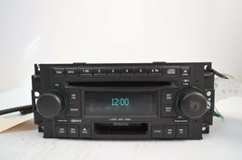 2005-2007 CHRYSLER DODGE RADIO 6 CD MP3 CASSETTE PLAYER TESTD 5091523AL ... - $99.00