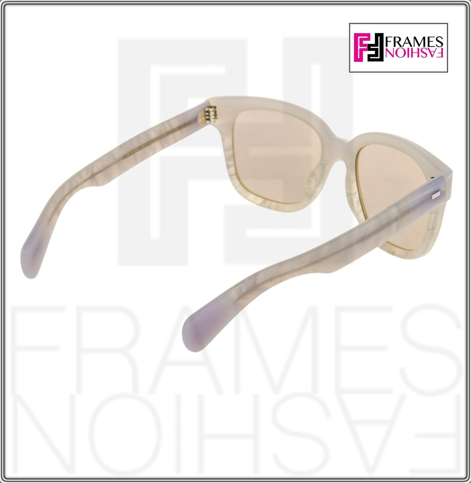 OLIVER PEOPLES Brinley OV5281SU Opal Pearl Gold Mirrored Sunglasses 5281 image 5