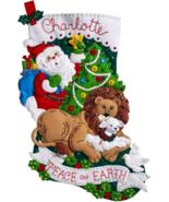 Bucilla 'Peace on Earth'  Felt Christmas Stocking Stitchery Kit, 86665 - $25.99