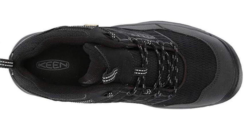 Keen Saltzman Size 9 M (D) EU 42 Men's Waterproof Trail Hiking Shoes Black/Raven image 5