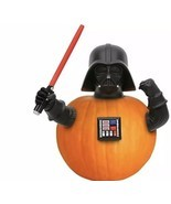 Star Wars Darth Vadar Pumpkin Push Halloween Decoration 4 Pc Set Decorat... - £17.61 GBP