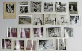 Wire Fox Terrier Dog Photographs Lot 21 Black White Colored Prints Vinta... - $23.00