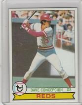 1979 Topps  #450 Dave Concepcion Reds - $2.56