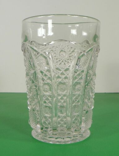 Imperial Vintage Glass DAISY AND BUTTON Water Pitcher Set with 7 Tumbler (s) image 11