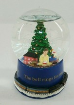 "Hallmark Polar Express Snow Globe ""The Bell Rings For Me"" 2004 - $9.89"