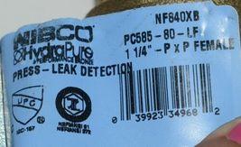 NIBCO HydraPure NF840X8B PC58580LF 1 1/4 Inch Lead-Free Bronze Ball Valve image 4
