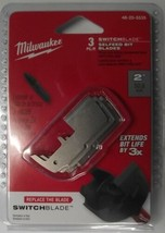 """Milwaukee 48-25-5535 2"""" Inch Switchblade Replacement Blade (3-Pack) - $6.68"""