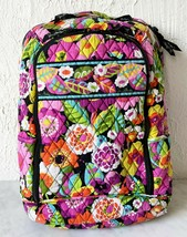 Vera Bradley Large Backpack with Laptop Sleeve Va Va Bloom Retired Pattern  - $28.45