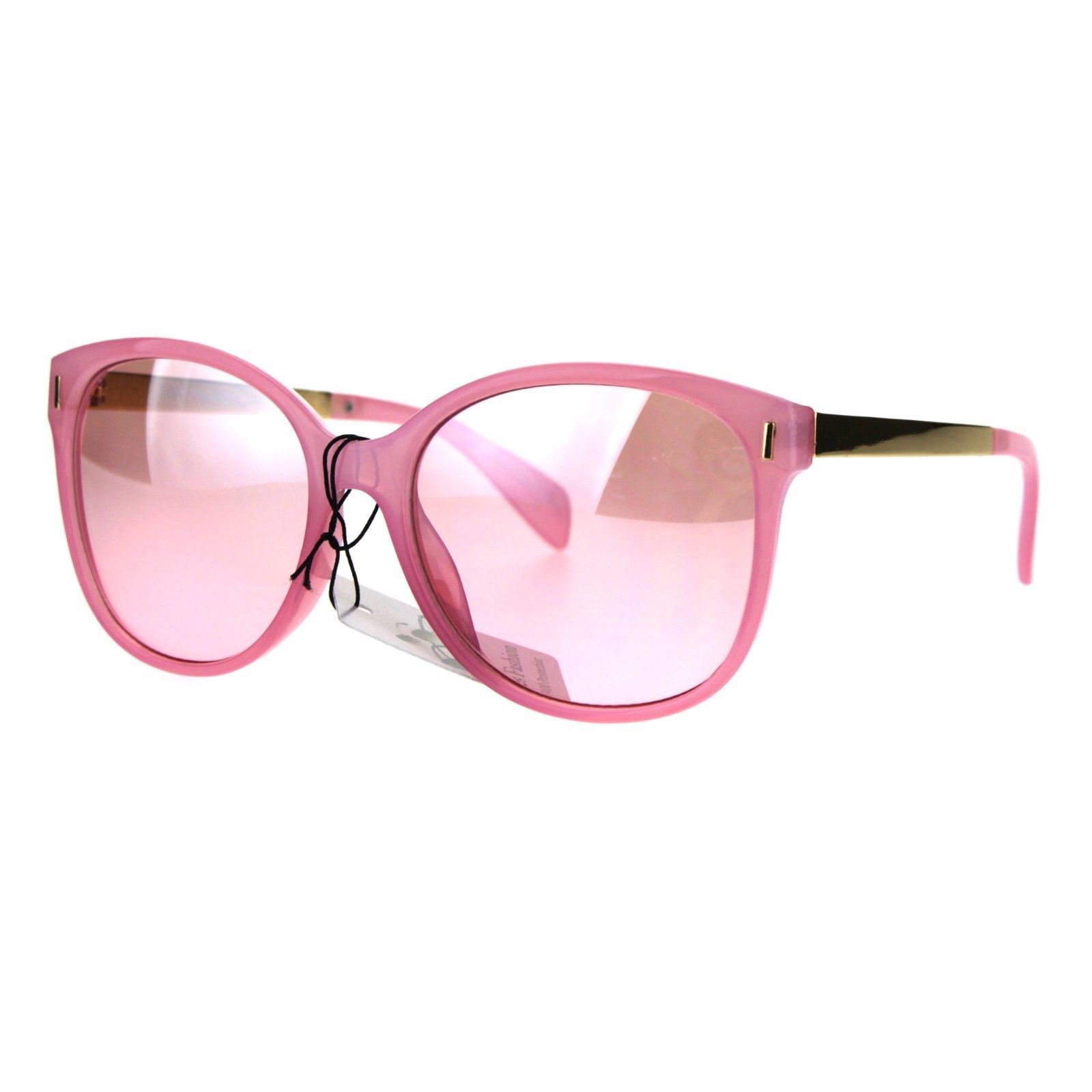Womens Designer Fashion Butterfly Diva Plastic Gradient Sunglasses