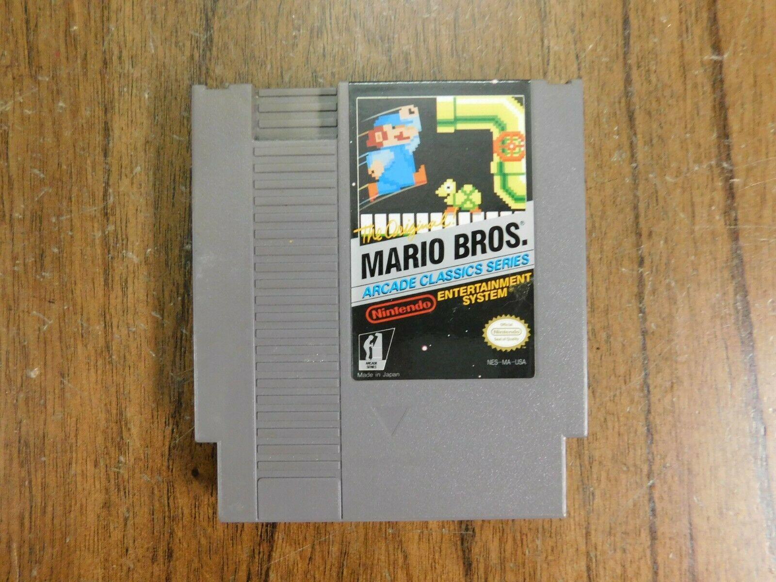 NES Game - Mario Bros Arcade Classics Series - Cartridge