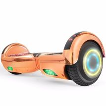 Flash Chrome Rose Gold Bluetooth Hoverboard Two Wheel Balance Scooter UL... - $249.00