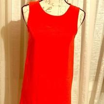 Joie Giunia Spicy Orange Silk Dress, Size XS BNWT $398 - $54.23