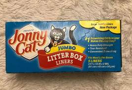 Jonny Cat C00154 Heavy Duty Litter Lox Liner - $3.95