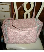 Vera Bradley medium duffel Retired PINK pattern - $50.00