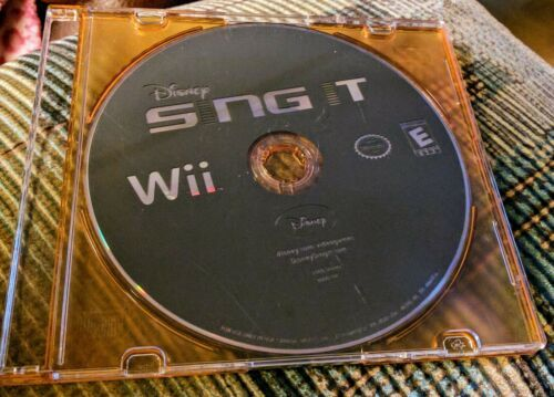 Disney Sing It (DISC ONLY) Nintendo Wii Video Game - Fast Shipping