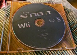 Disney Sing It (DISC ONLY) Nintendo Wii Video Game - Fast Shipping - $2.94