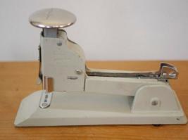 Vtg Swingline 13 Beige Metal Industrial Era Art Deco Heavy Duty Steel Stapler - $29.59