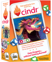 Smirk & Dagger - Cindr - How to Date Dragons Card Game  -=NEW=- - $29.95