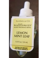 NEW Bath & Body Works Wallflowers LEMON MINT LEAF Fragrance Refill Bulb - $8.59