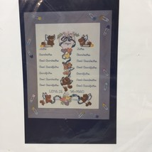 Family Tree Picture Cross Stitch Kit Candamar Designs Baby Love - $9.74
