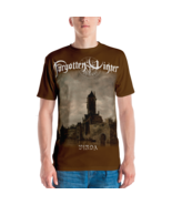 Forgotten Winter - Vinda [Men / Brown t-shirt with long design - $37.00+