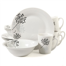 Gibson Netherwood 12-Piece Dinnerware Set - $46.38