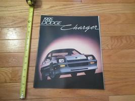 Dodge CHarger 1985 Car truck Dealer Showroom Sales Brochure - $9.99