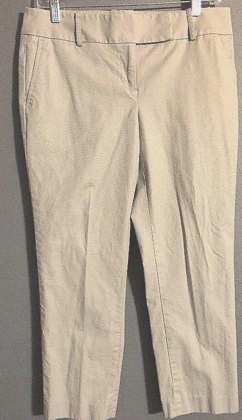 ANN TAYLOR LOFT Marisa Dress Pants Size 6 Gray Crop Pants