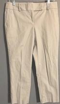 ANN TAYLOR LOFT Marisa Dress Pants Size 6 Gray Crop Pants - $14.99