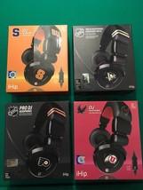 Lot Of Four IHIP DJ Headphones NIB - $52.02 CAD