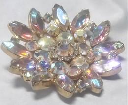 Juliana Aurora Borealis Rhinestone Brooch - $58.99