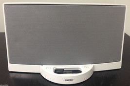 White Bose SoundDock Digital Music Sound Dock for Older Apple Ipod Iphones - $90.00
